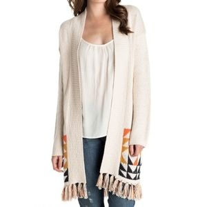 Roxy Near Future Cardigan cream size extra small